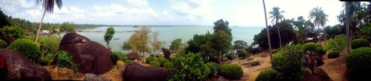 Batu Dinding Beach - Bangka Island
