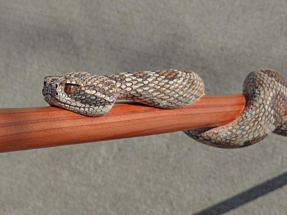 Rattle snake walking stick