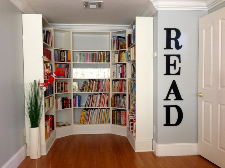 17 Best Images About Diy Home Library On Pinterest Home