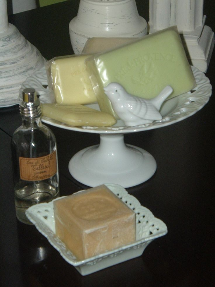 French hard milled soaps.   The best !