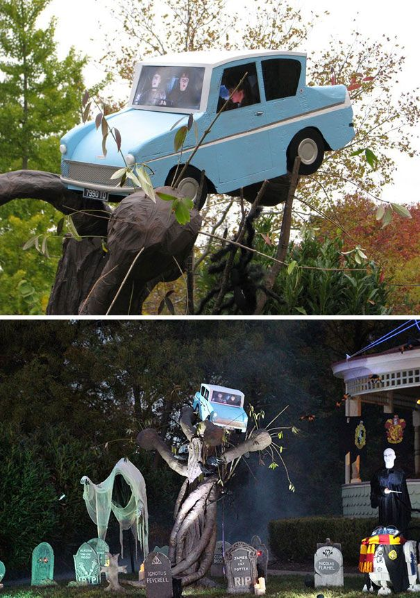 50 Times People Surprised Their Neighbors With Their Halloween