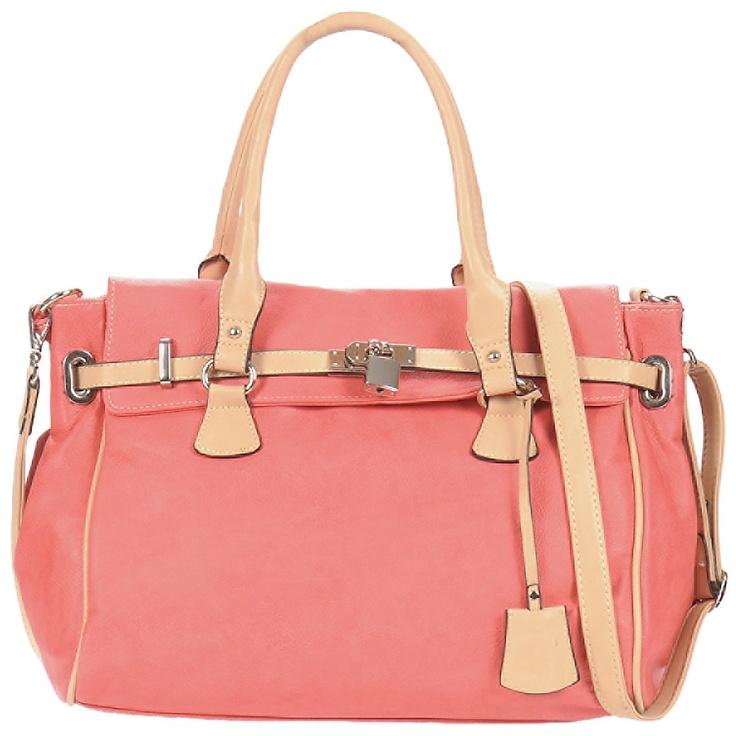 Handtasche StylistClick MOLLIE Korallenrot - Kostenloser Versand ! - Taschen Damen 31,96 €