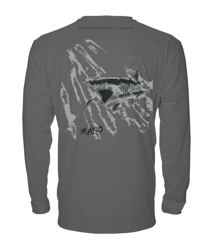 MAKO Performance Shirt, Shortfin Mako Shark