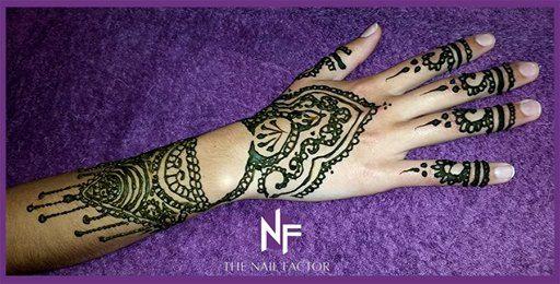 Done at The Nail Factor Gateway! #NailFactorMoments #henna  #gelpolish  #nails #cool #nail #gelart #gelnails #nailart #instanails #gel  #nailgasm  #todaysnails  #manicure  #nailswag #nailpolish