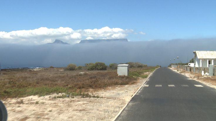 View of Table Mountain from Robben Island where Nelson Mandela was a prisoner. #tablemountain#robbenisland #mandela #capetown #africa #travel #southafrica