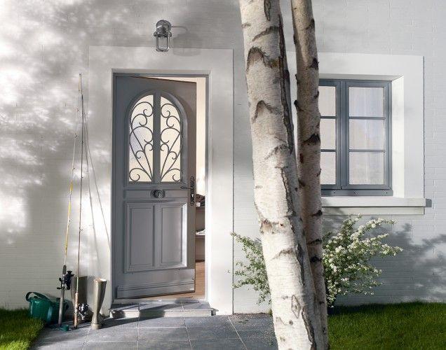 un atelier au fond des bois : Repenser son entrée : de la porte d'entrée à la déco...