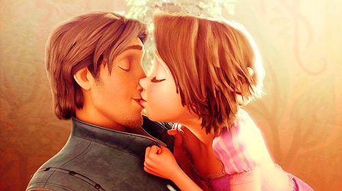 Their first kiss :)
