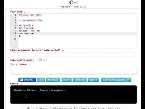 New and Delete Operators in C++   Dynamic Memory Allocation   CPP Progra...