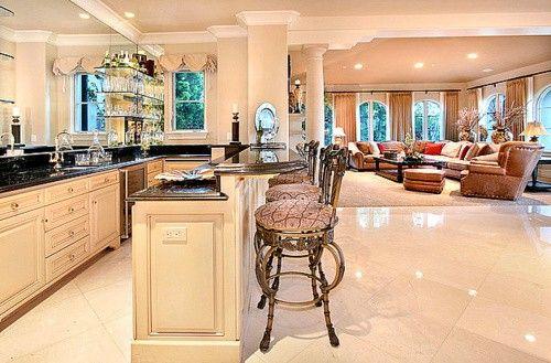 Bar Room Divider Kitchen Living Area Home Decor Pinterest