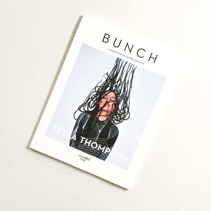 My brand new Bunch Mag. Couldn't be happier right about now