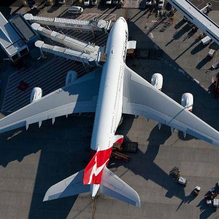 Qantas A380 ! #aviation #airport #airplane #plane #aircraft #flight #planespotting #beautiful #aviationlovers #cockpit #fly #boeing #airbus #crew #pilot #sky #travel #amazing #avgeek  #airshow #jet