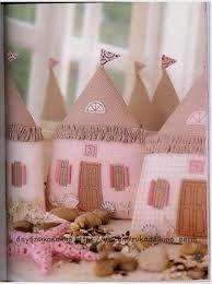 Картинки по запросу текстильный домик выкройка