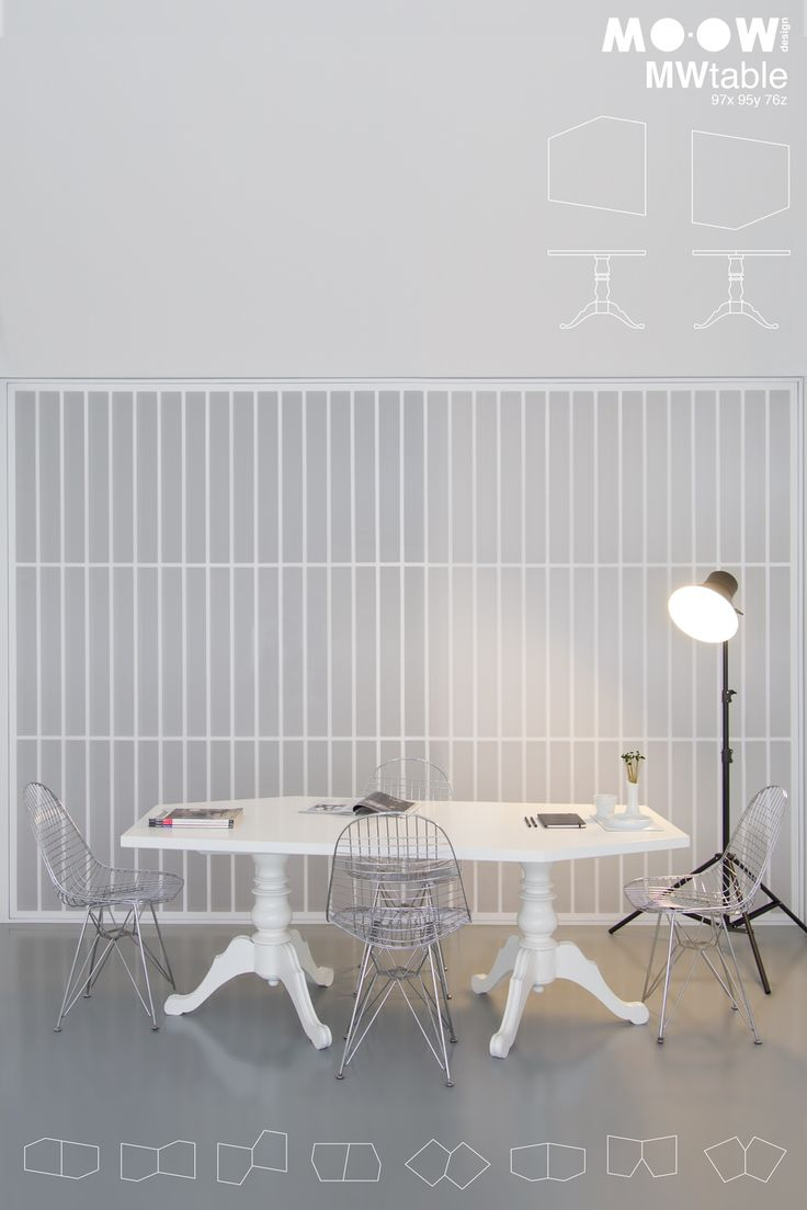 Mutable from MO-OW  http://mo-ow.com/MoProducts_Tables_MWtable.html  #table #design #interiors #furniture #lifestyle