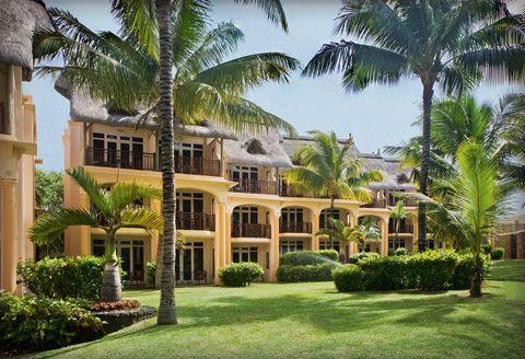 LUX* Belle-Mare, Mauritius - a gorgeous resort on Mauritius' East Coast. Amazing restaurants in a beautiful setting (stayed July 2006). #Mauritius #MauritiusHotel #Luxury #Beachfront