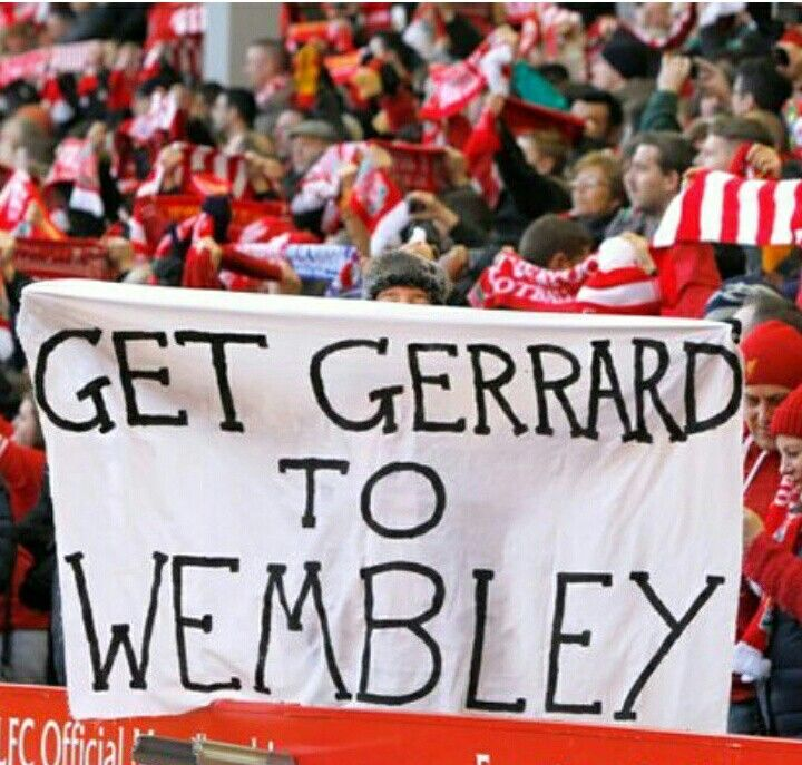 Get Gerrard To Wembley
