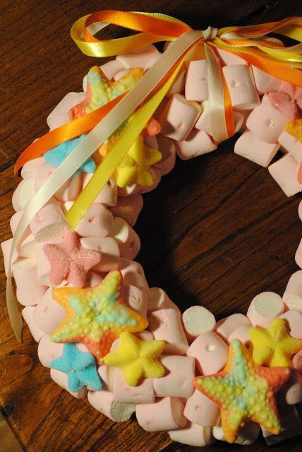 Candy Wreath #chuches