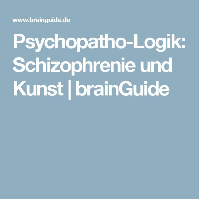 Psychopatho-Logik: Schizophrenie und Kunst | brainGuide