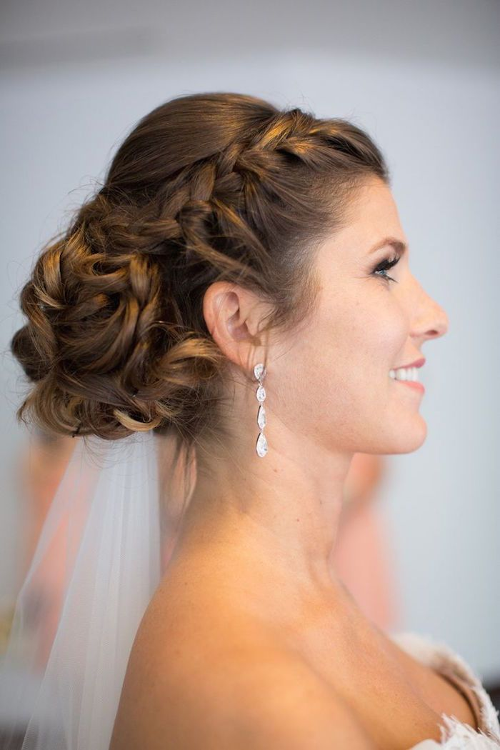 25 wedding hairstyles with rustic chic style