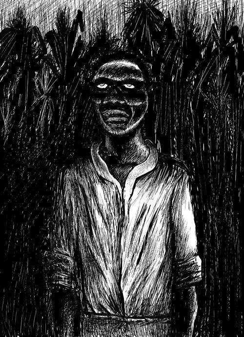 Zombies bakgrundsinformation – bild från Wikipedia.