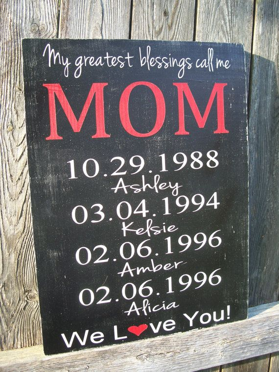 Personalized Mothers Day Gift Moms Greatest By Castleinndesigns Awesome Ideas Pinterest Mother Gifts And For Mom