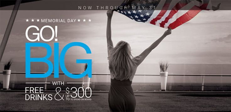 Book #Celebrity #Cruises at http://www.gobooktrips.com CELEBRITY 7 DAY SALEBook May 25 through May 31, 2016 and get and incremental OBC per stateroom combinable with Go! Big offer of one #FREE perk.• $50 Ocean View • $100 Veranda • $150 Concierge Class and Aqua Class® • $300 Suites PLUS reduced deposits.4 N or longer Cruises departing July 2016 to April 2017. Excludes Repositioning Itineraries, Trans Pacific, Trans Atlantic and Galapagos.