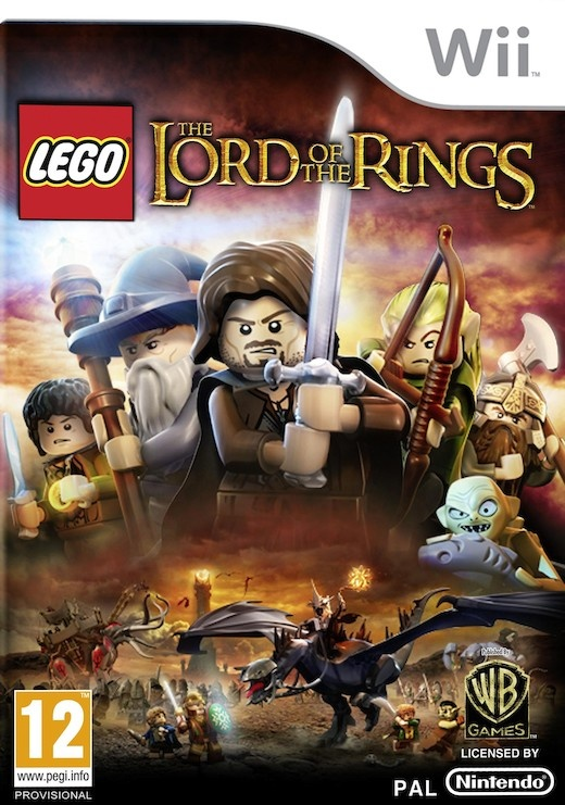 Wii-spill:   Lego Lord of the Rings