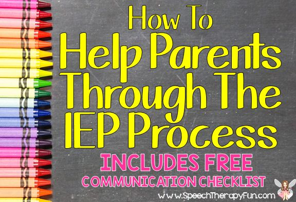 Help Keep Your Parents Informed Throughout the IEP Process Plus FREE Parent Communication Checklist