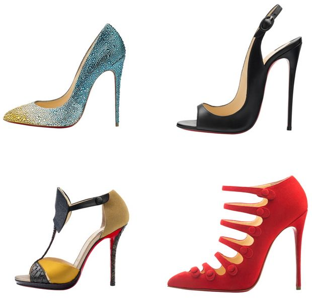 Check Out Christian Louboutin\u0027s Fall 2014 Shoes, Including His Tallest  Single-Sole Heel Ever