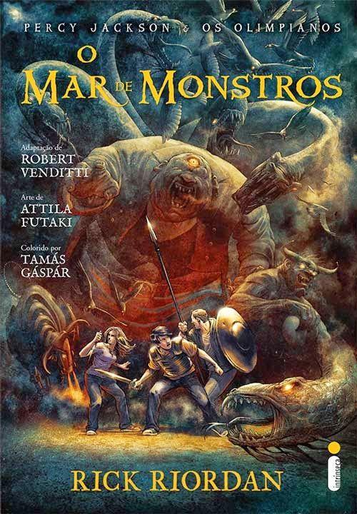 Rick Riordan - Percy Jacksoon: O mar de monstros (HQ)