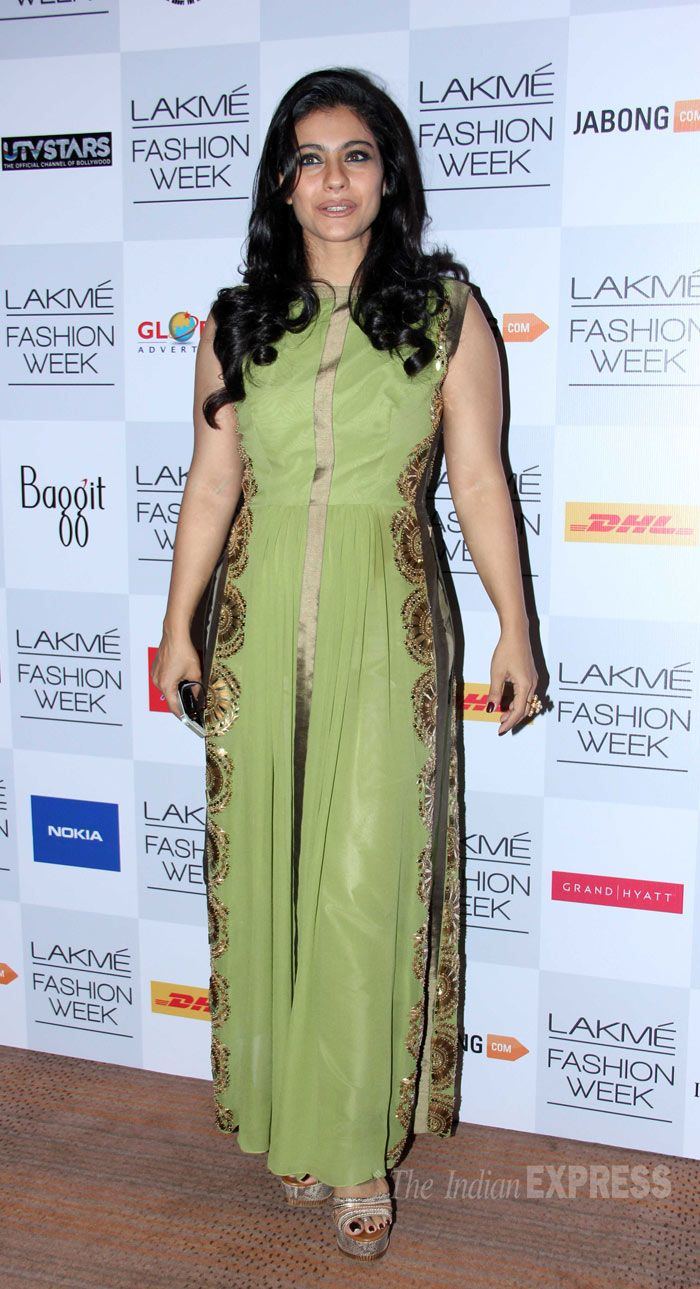 Lakme Fashion Week once again favours @Darren Goble Advertisers for Outdoor Promotion. #kajol at Lakme Fashion Week #Lakme #Fashion #Mumbai