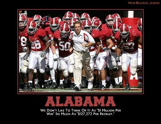 Apologise, but, Alabama football suck 2010 can