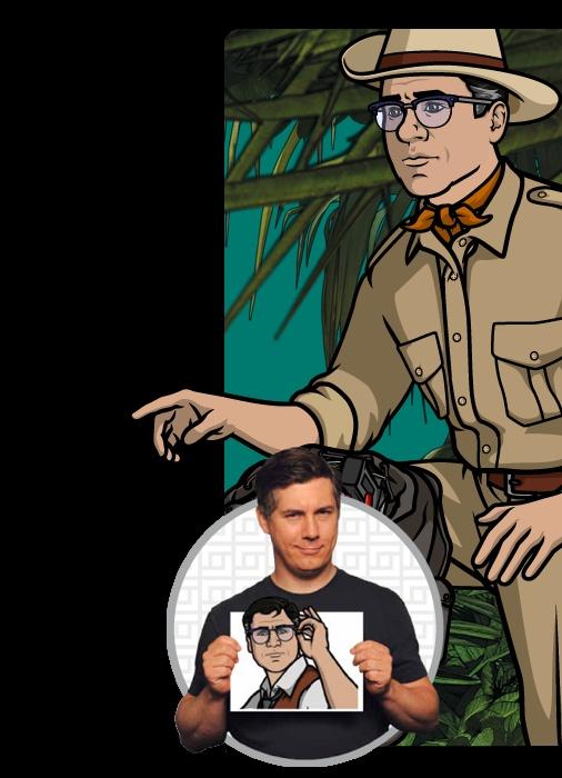 Archer:  Cyril Figgis (Chris Parnell)