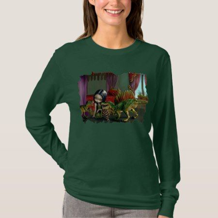 Dinosaur Friends 2 lowbrow fantasy Shirt - click to get yours right now!