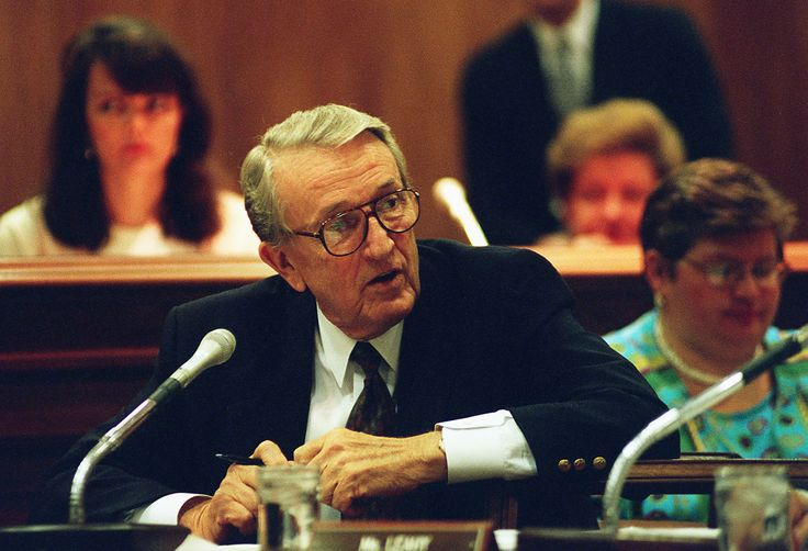 Dale Bumpers The American politician who served as the 38th Governor of Arkansas and in the United States Senate died on January 1 at the age of 90. (Photo by Scott J. Ferrell/Congressional Quarterly/Getty Images)  via @AOL_Lifestyle Read more: http://www.aol.com/article/2016/12/09/people-who-died-in-2016-muhammad-ali-scalia--deaths-that-made-headlines/21623723/?a_dgi=aolshare_pinterest#fullscreen