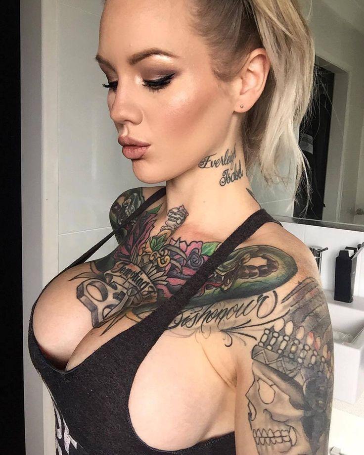 Tattoos big tits gifs