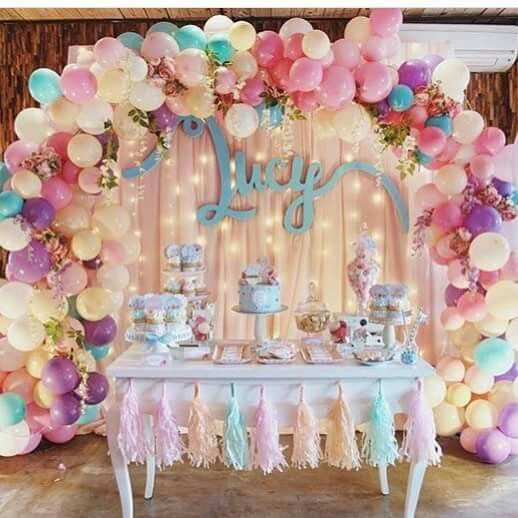 Best Birthday Table Decorations Ideas On Pinterest Desert - Table decoration ideas for 18th birthday