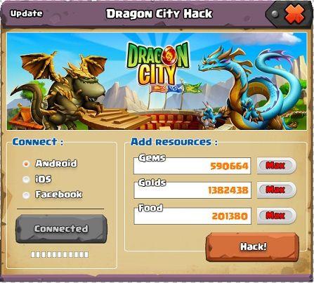 Dragon city hack