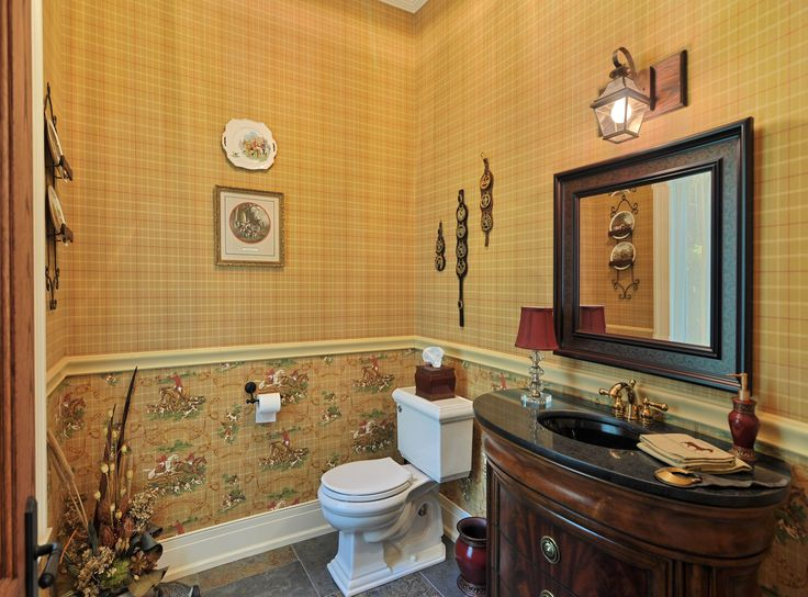equestrian guest bathroom
