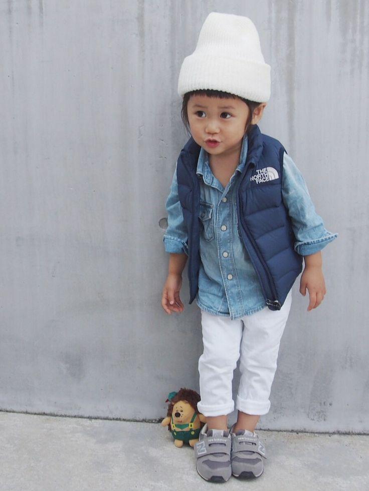 Kids / outfit / vest  / jeans