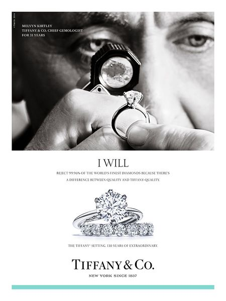 tiffany co marketing assesment Diamond jewellery or a tiffany engagement ring: pricing is key  able to get  an accurate figure of what the market values your item at  the most accurate  assessment is to find a similar seller, who has sold a similar item.