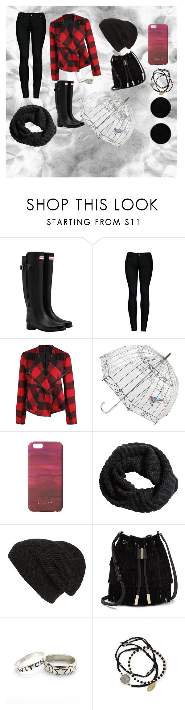 Sin título #13 by dancbc on Polyvore featuring moda, Dex, 2LUV, Hunter, Vince Camuto, Feather & Stone, AeraVida, Lulu Guinness, Jigsaw and Phase 3