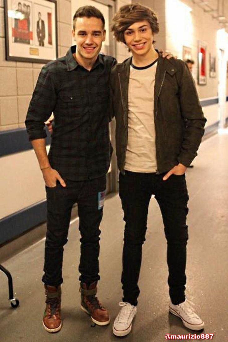 Liam from One Direction and George from Union J