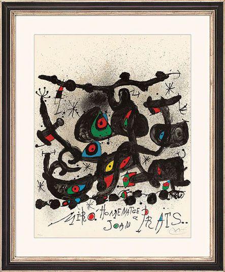 """Joan Miró, """"Homenatge a Joan Prats"""", 1971 http://www.kunsthaus-artes.de/de/783220.R1/Bild-Homenatge-a-Joan-Prats-1971/783220.R1.html#q=prats&start=3"""