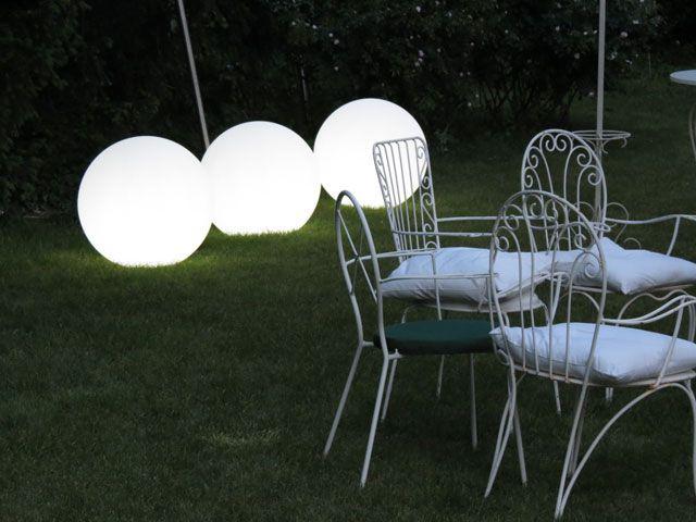 Slide Globo Out lampa zewnętrzna