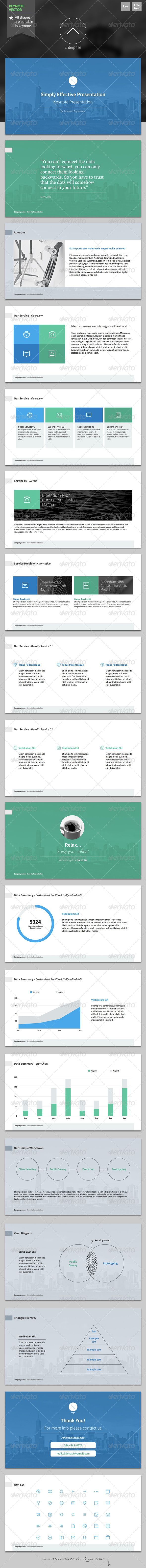 Presentation Templates - Enterprise - Keynote Template | GraphicRiver, presentation, design,