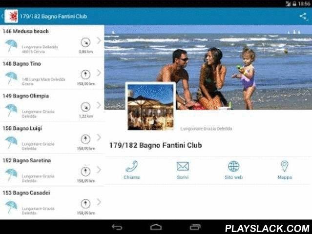 Spiagge Cervia  Android App - playslack.com , Scarica l'app Spiagge Cervia e con un click potrai: - Accedere gratuitamente a Galileo, il WiFi delle spiagge di Cervia - Ascoltare Radio Galileo Cervia in streaming - Vincere fantastici premi con il concorso Vinci con le Spiagge di Cervia - Trovare la spiaggia che più ti piace scegliendo tra oltre 200 stabilimenti balneari - Avere sempre con te una guida aggiornata sulle novità dell'estate nelle spiagge di Cervia, Milano Marittima, Pinarella e…