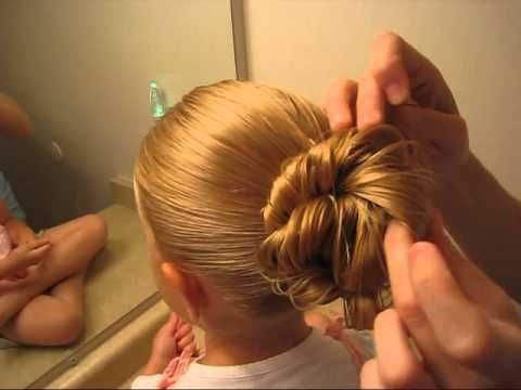 how to put long thick hair in a messy bun
