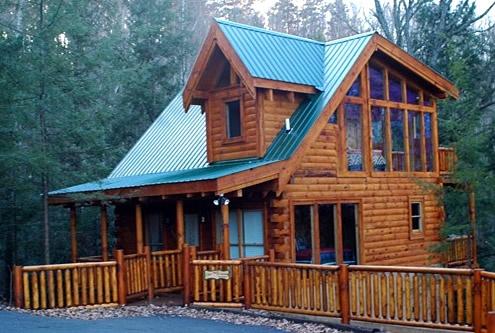 Arbor place 2 bedroom 2 bathroom cabin rental in pigeon for Cabin lots