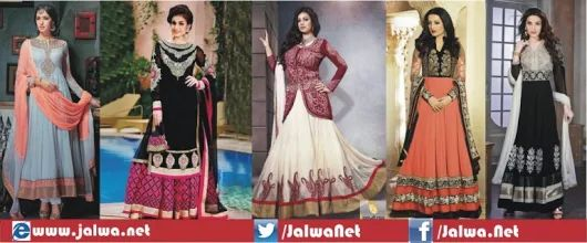 Anarkali Lehenga Style Collection For Girls – Jalwa.Net