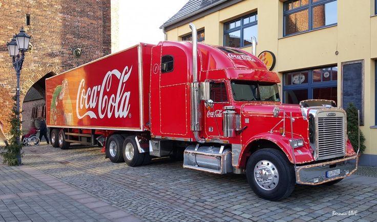 coca cola weihnachtstruck 2016 | Coca Cola Weihnachtstruck in Bernau - Videos und Bilder - Bernau LIVE